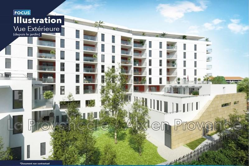 appartement  4 pièces  Aix-en-Provence   90m² -