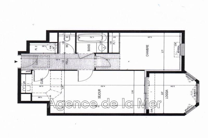 Photo n°14 - Vente appartement Juan-les-Pins 06160 - 269 000 €