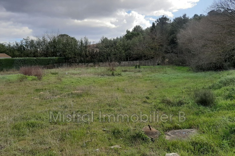 Photo Land Bagnols-sur-Cèze   to buy land   2297 m²