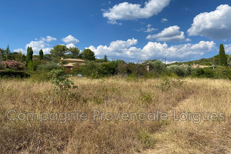 Photo n°1 - Vente terrain Lorgues 83510 - 145 000 €