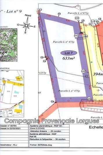 Photo n°2 - Vente terrain à bâtir Lorgues 83510 - 150 000 €