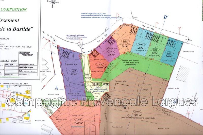 Photo n°4 - Vente terrain à bâtir Lorgues 83510 - 150 000 €