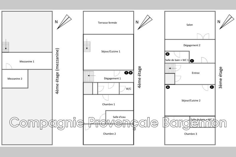 Photo n°13 - Vente appartement Bargemon 83830 - 105 000 €