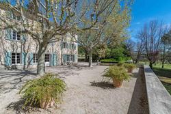 Vente propriété Aix-en-Provence Façade jardin