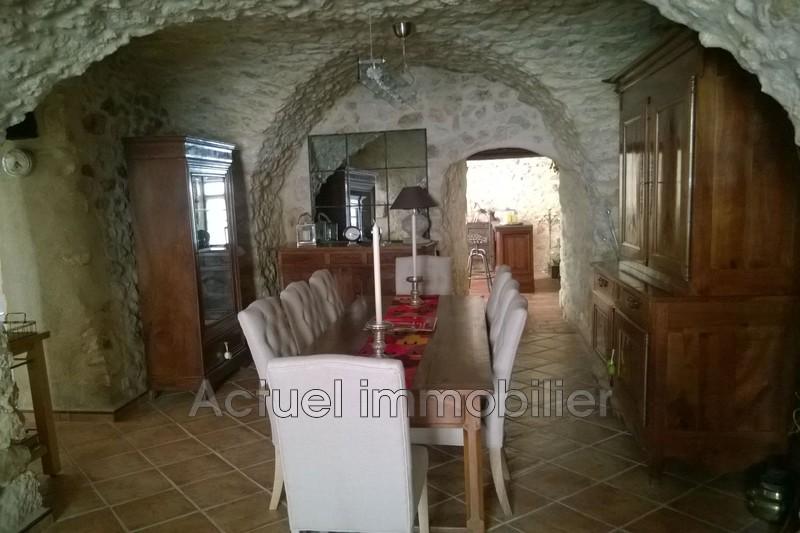 Vente maison de village La Roque-d'Anthéron Salle_reception