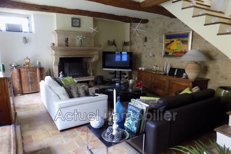 Vente maison de village La Roque-d'Anthéron Salon_TV_5.JPG