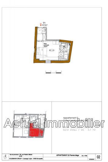 Vente appartement Aix-en-Provence __Pc3_architecture 03_13-Aix en Provenc...Plan de vente DESSIN Plan vente 02 (1)