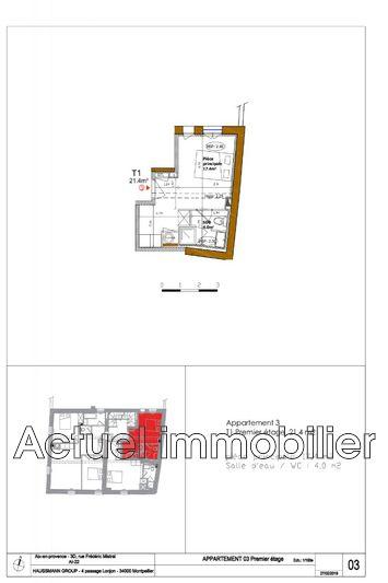 Photo n°2 - Vente appartement Aix-en-Provence 13100 - 210 000 €
