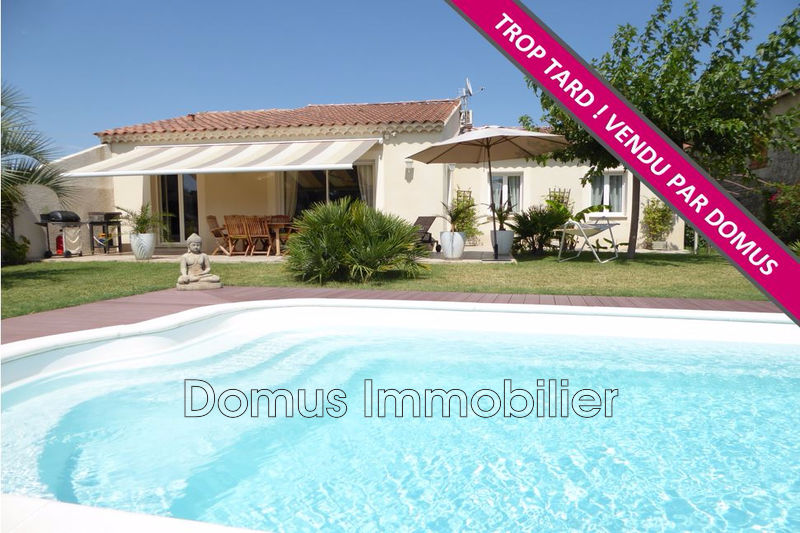 Photo Villa Saint-Saturnin-lès-Avignon   to buy villa  4 bedrooms   124 m²