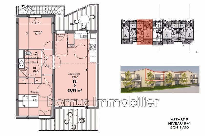 Photo Appartement Vedène Proche village,   achat appartement  3 pièces   67m²