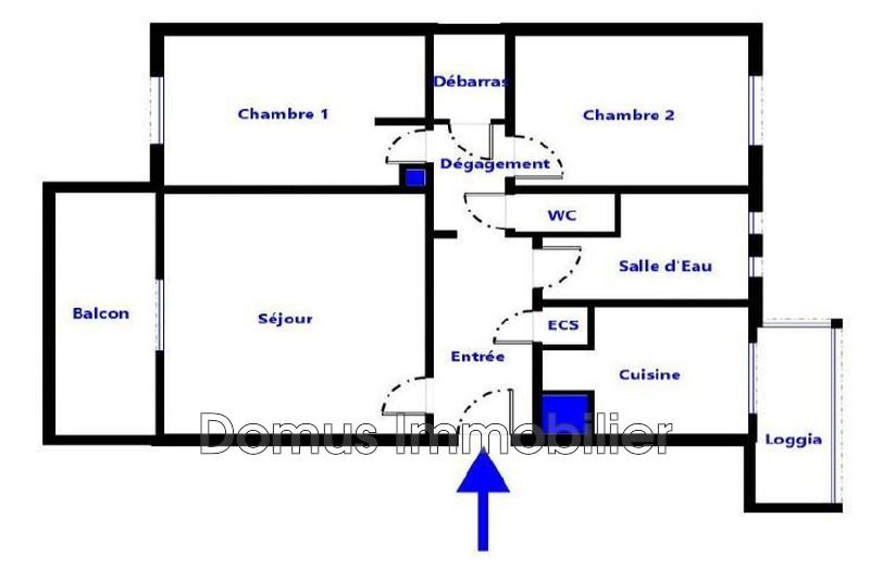 Photo n°3 - Vente appartement Avignon 84000 - 80 000 €