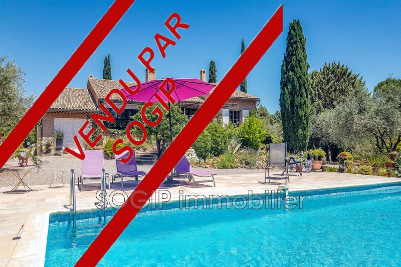 Photo Villa Flayosc Campagne,   to buy villa  3 bedrooms   165 m²