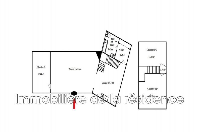 Photo n°10 - Location Maison villa Velaux 13880 - 1 180 €
