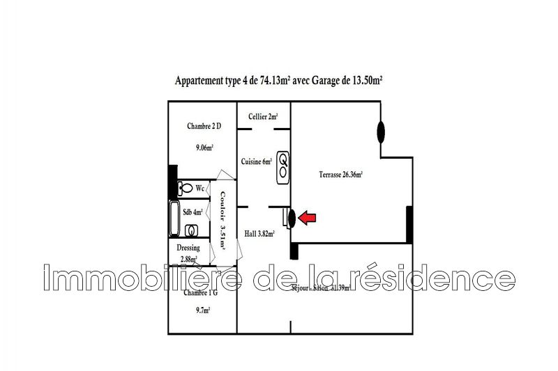 Photo n°10 - Location appartement Vitrolles 13127 - 850 €