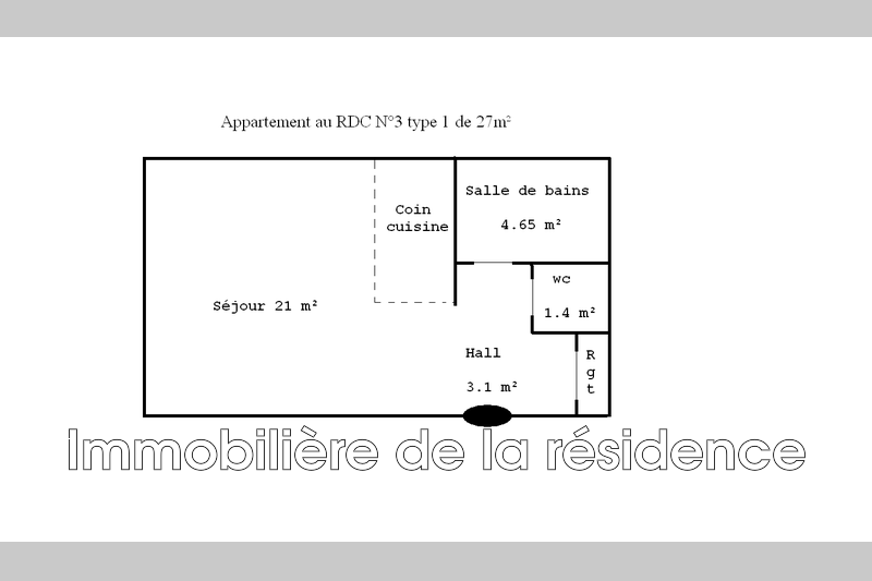 Photo n°4 - Location appartement Vitrolles 13127 - 440 €