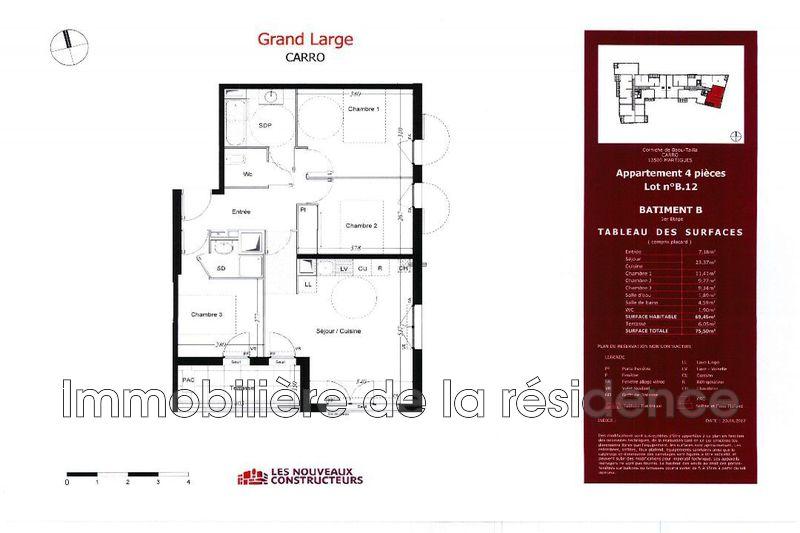 Photo Appartement Martigues Bord de mer,   achat appartement  4 pièces   69m²