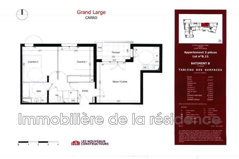Photo Appartement Martigues Bord de mer,   achat appartement  3 pièces   67m²