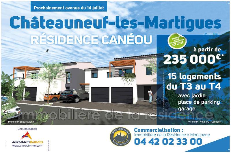 Photo Villa Châteauneuf-les-Martigues Centre ville,   achat villa  3 chambres   72m²