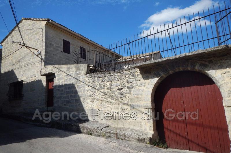 Photo Maison en pierre Sanilhac-Sagriès Sud uzès,   achat maison en pierre  4 chambres   94m²