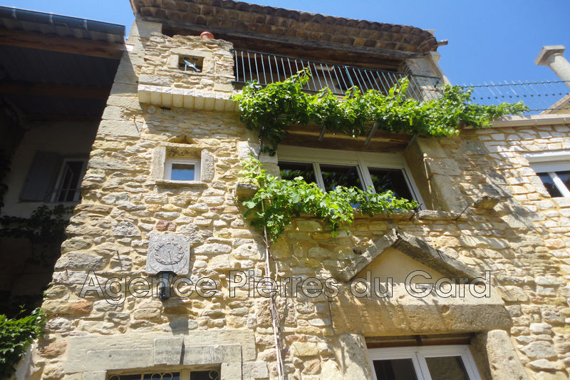 Photo Stone house Saint-Marcel-de-Careiret Nord uzès,   to buy stone house  3 bedrooms   85 m²