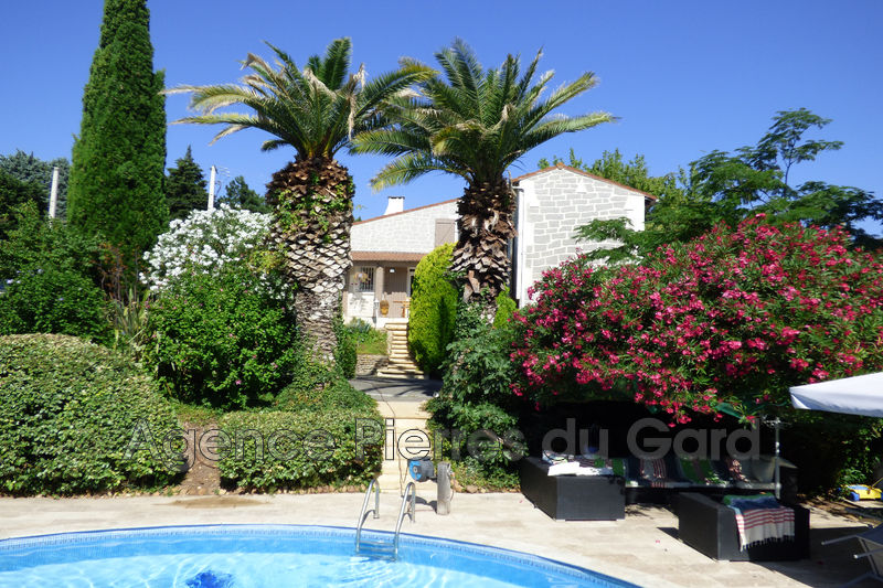 Photo Villa provençale Meynes Sud uzès,   achat villa provençale  3 chambres   152m²