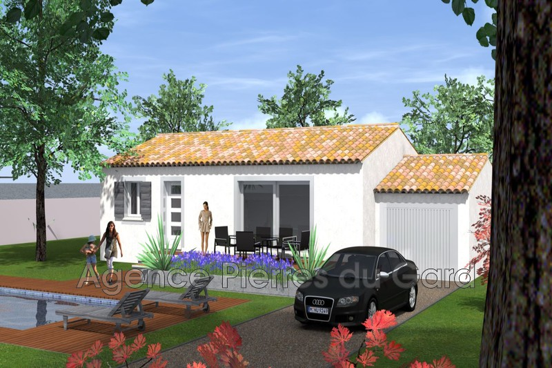 Photo Terrain à bâtir Saint-Marcel-de-Careiret   achat terrain à bâtir   600m²