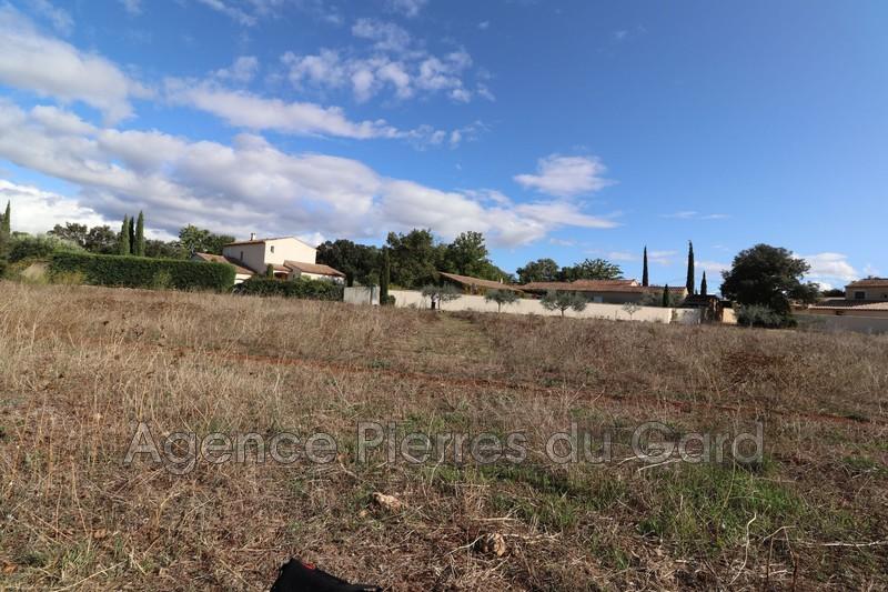Photo Terrain à bâtir Vers-Pont-du-Gard Sud uzès,   achat terrain à bâtir   904m²