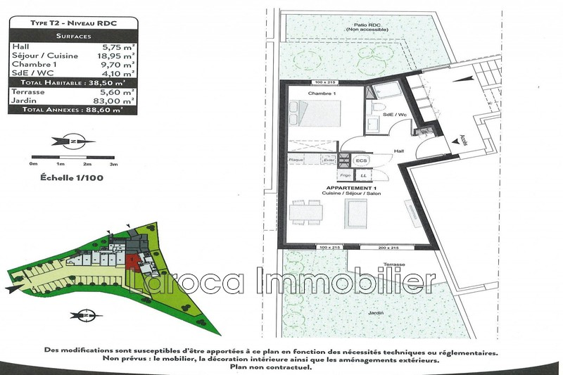 Photo n°4 - Vente appartement Collioure 66190 - 243 500 €