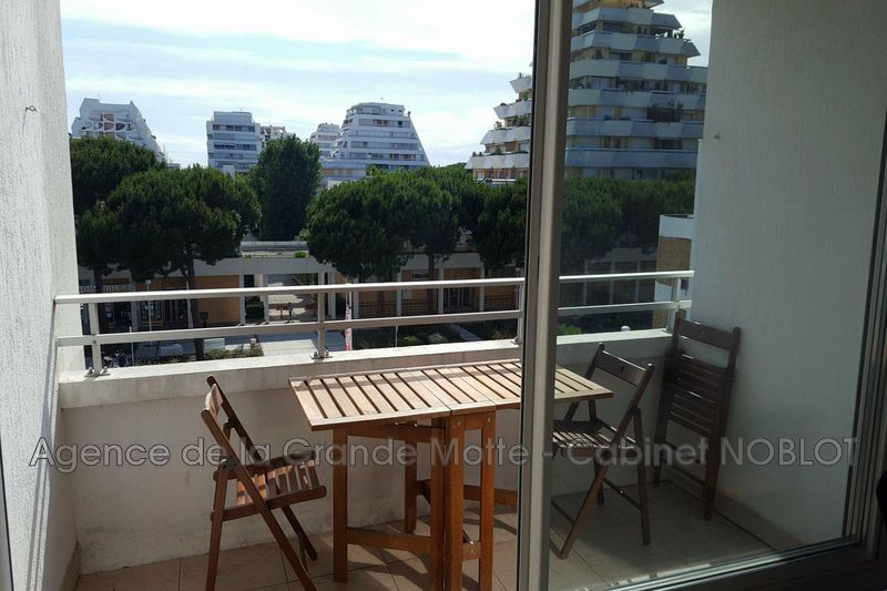 Photo Appartement La Grande-Motte Centre ville,  Location appartement  2 pièces   40 m²