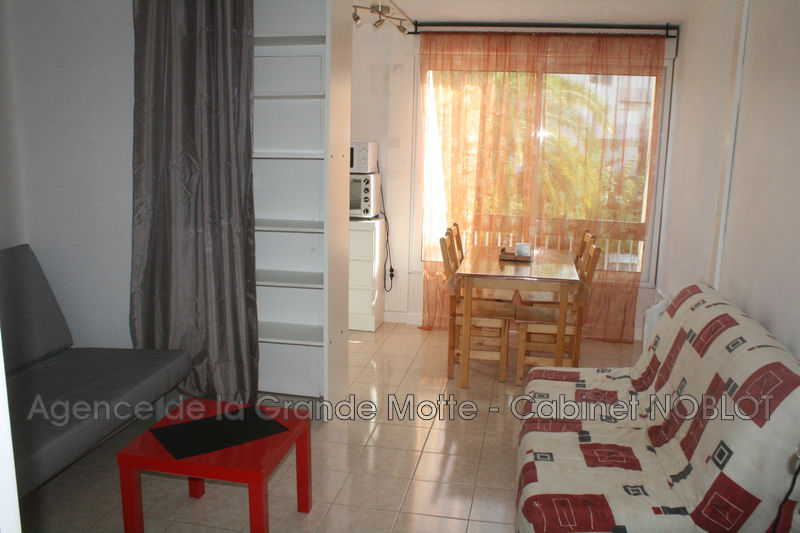 Photo Apartment La Grande-Motte Centre ville,  Rentals apartment  1 room   25 m²