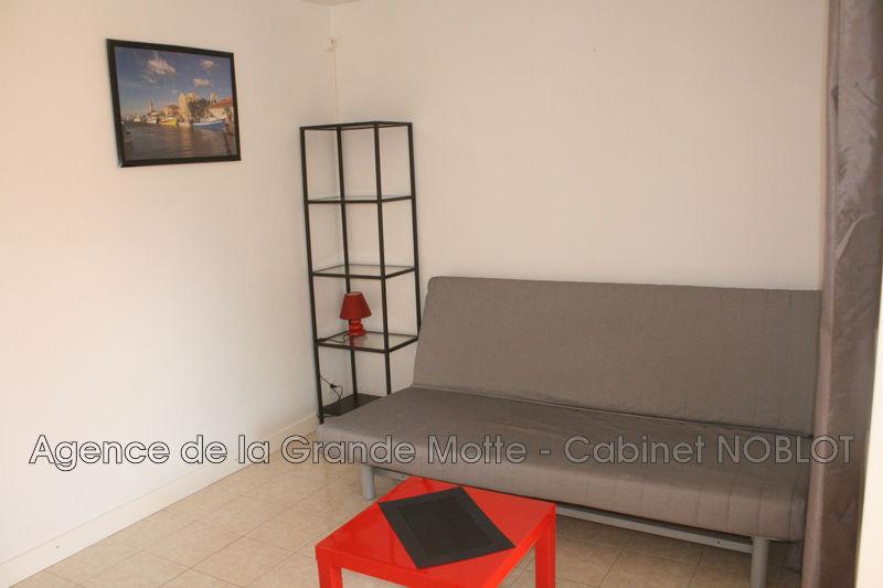 Appartement La Grande-Motte Centre ville,  Location appartement  1 pièce   25m²