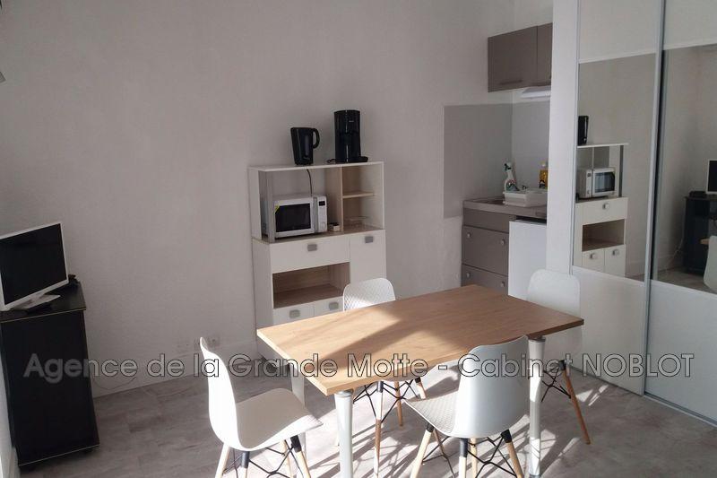 Photo Appartement La Grande-Motte Centre ville,  Location appartement  1 pièce   30m²