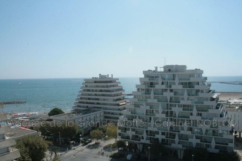 Appartement La Grande-Motte Centre ville,  Location appartement  2 pièces   39m²