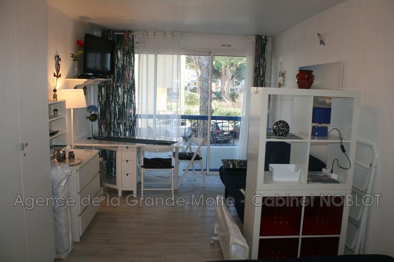 Photo Appartement La Grande-Motte Centre ville,  Location appartement  1 pièce   25m²
