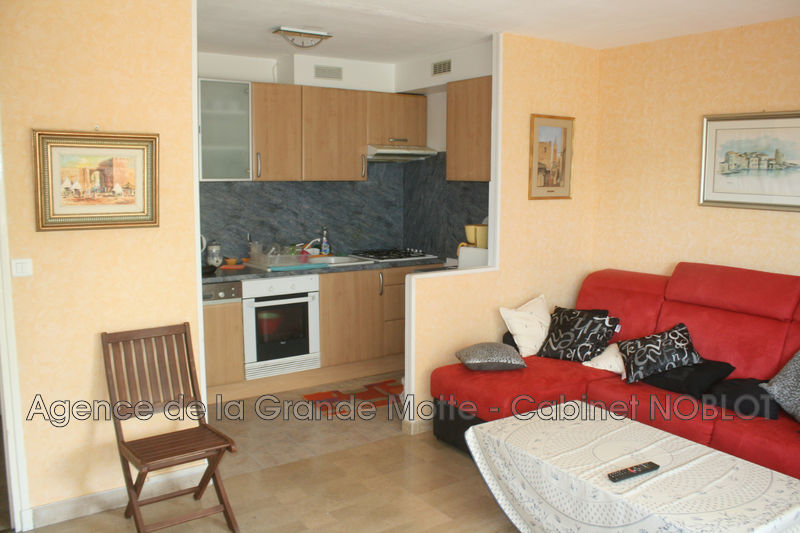 Photo Apartment La Grande-Motte Centre ville,  Rentals apartment  2 rooms   42 m²