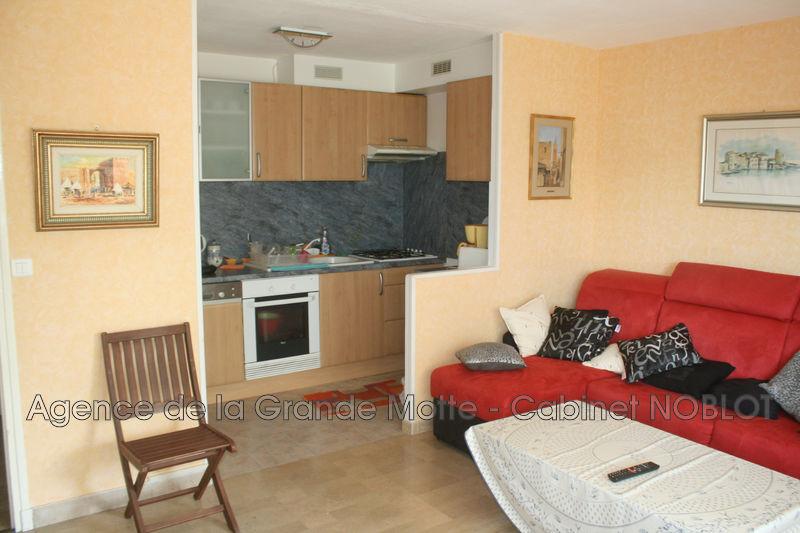 Appartement La Grande-Motte Centre ville,  Location appartement  2 pièces   42m²