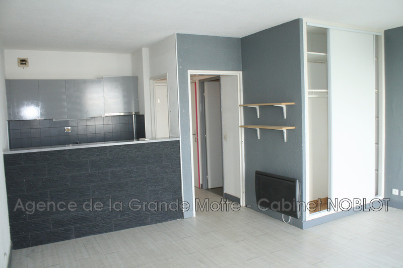 Photo Appartement La Grande-Motte Centre ville,  Location appartement  1 pièce   31 m²