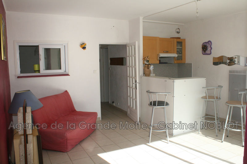 Photo Apartment La Grande-Motte Centre ville,   to buy apartment  1 room   34 m²