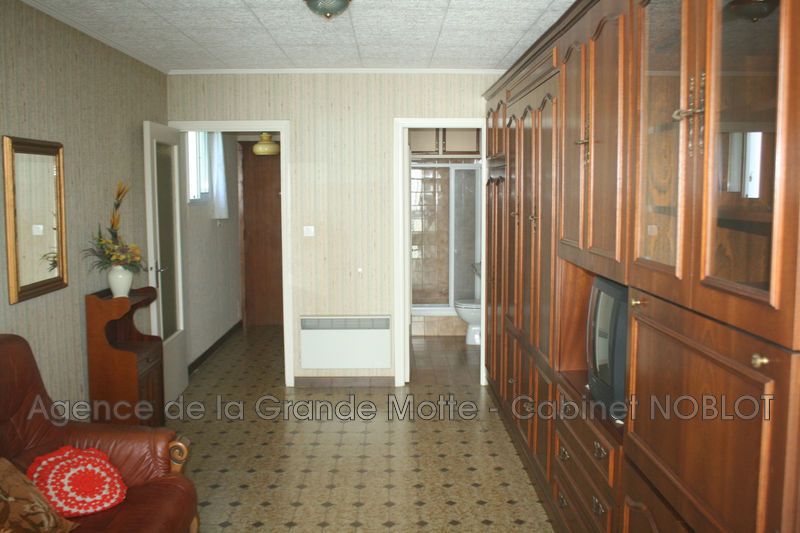 Photo Apartment La Grande-Motte Point zéro,   to buy apartment  1 room   25 m²