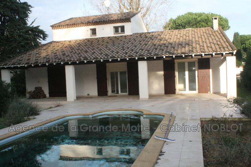 Villa La Grande-Motte Quartier des villas,   achat villa  5 chambres   190m²