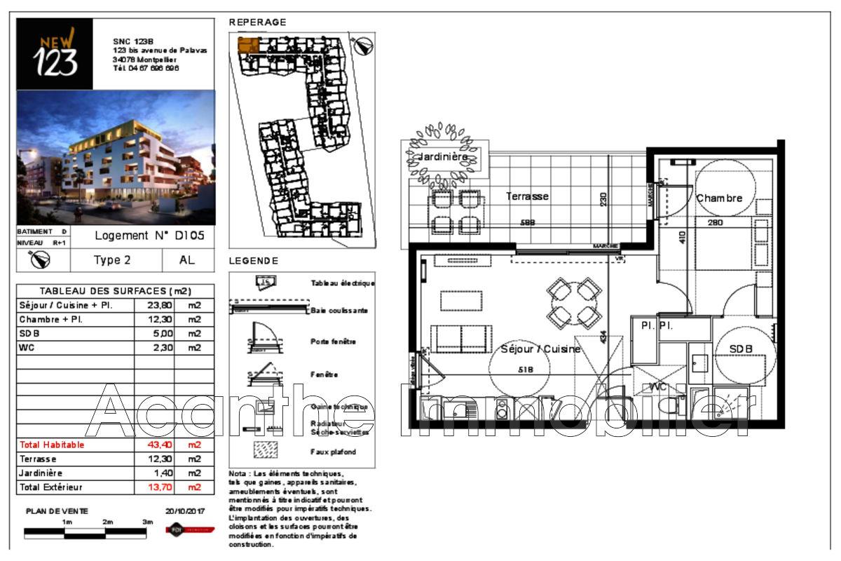 plan appartement r+2