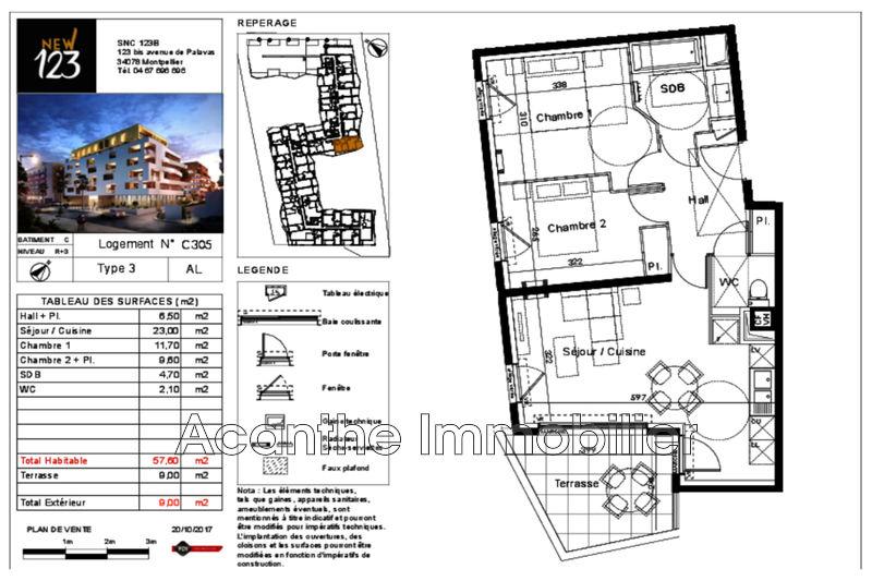 Photo n°2 - Vente appartement Montpellier 34000 - 225 000 €