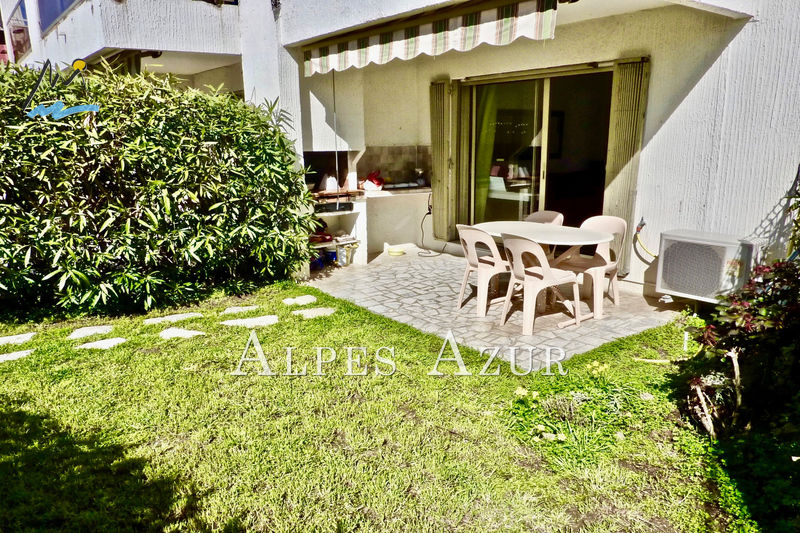 Photo Ground garden Villeneuve-Loubet Marina baie des anges,   to buy ground garden  1 room   30 m²