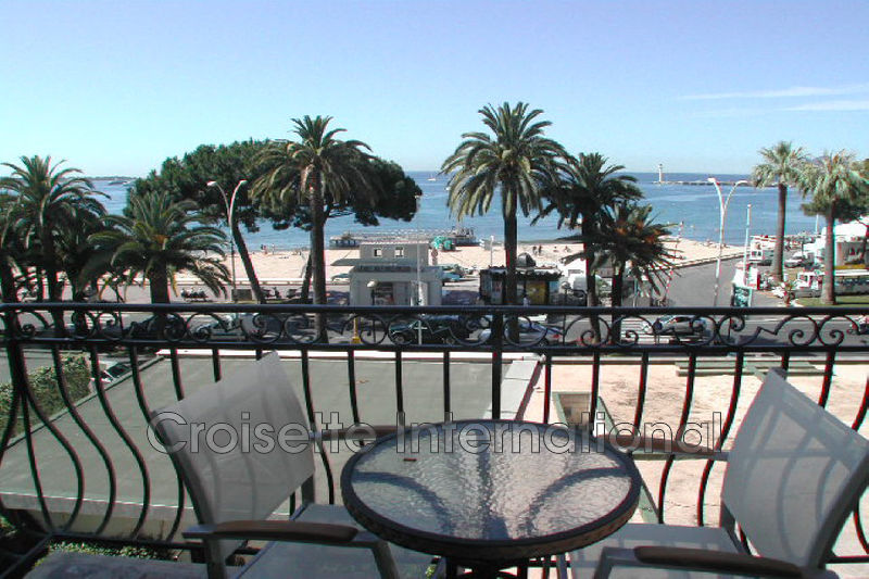 Appartement Cannes Croisette,  Location saisonnière appartement  3 pièces   86m²