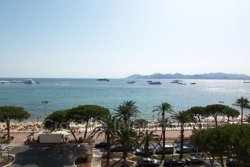 Appartement Cannes Croisette,  Location saisonnière appartement  2 pièces   70m²