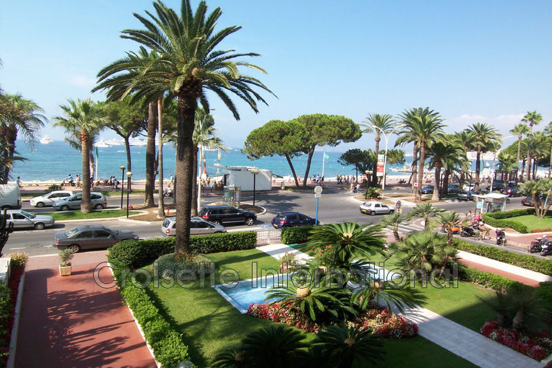 Appartement Cannes Croisette,  Location saisonnière appartement  3 pièces   90m²