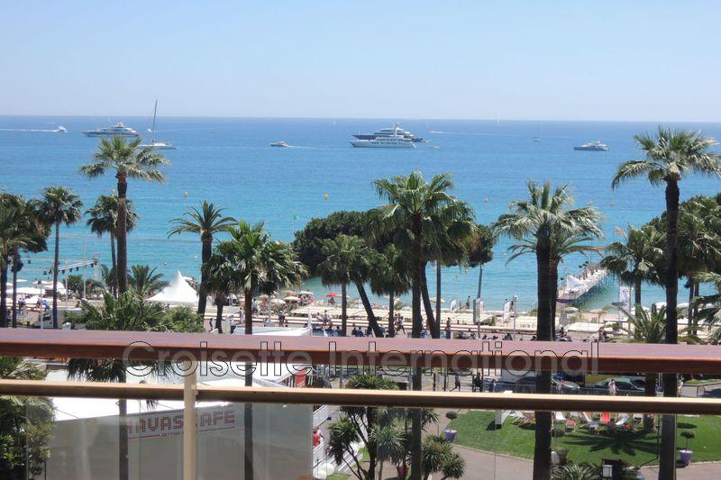Appartement Cannes Croisette grand hôtel,  Location saisonnière appartement  3 pièces   110m²
