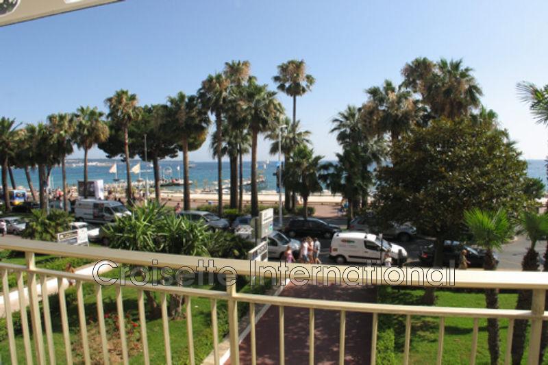 Appartement Cannes Croisette,  Location saisonnière appartement  3 pièces   95m²