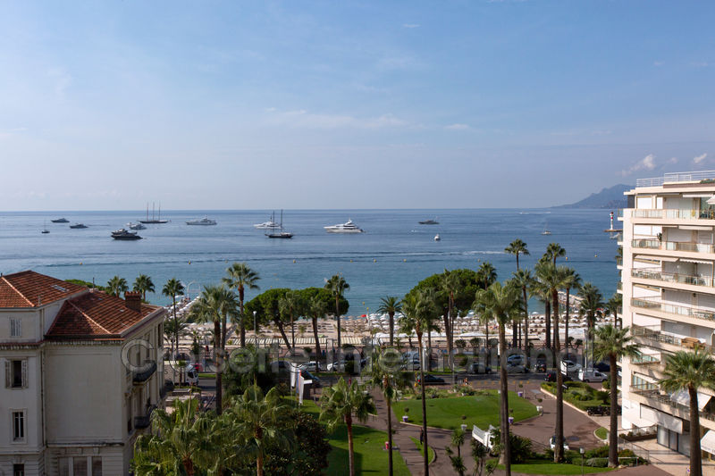 Appartement Cannes Croisette grand hôtel,  Location saisonnière appartement  3 pièces   135m²