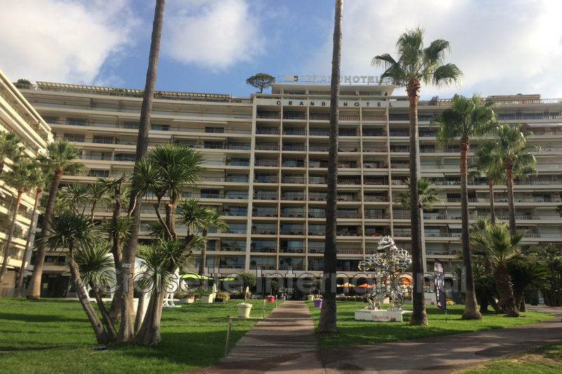 Apartment Cannes Croisette grand hôtel,  Rentals apartment  1 room   29 m²